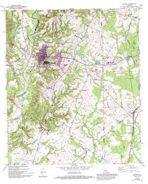Jackson topo map