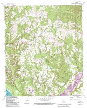 Elm Park topo map