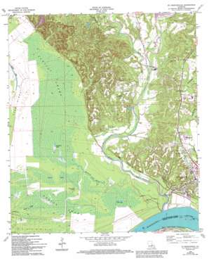 Saint Francisville topo map