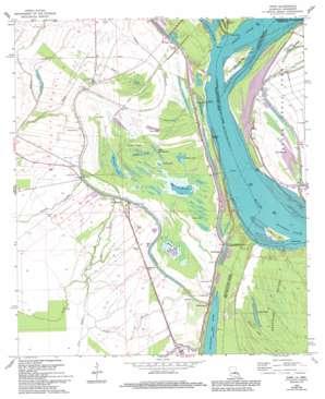 Innis topo map