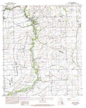 Milton topo map