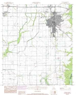 Jennings topo map