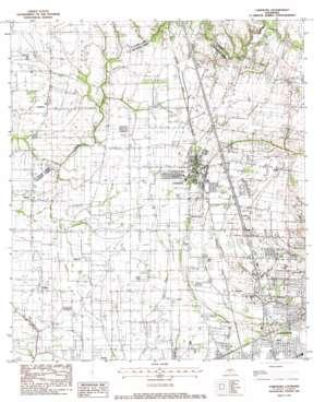 Carencro topo map