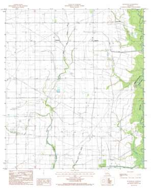 Hathaway topo map