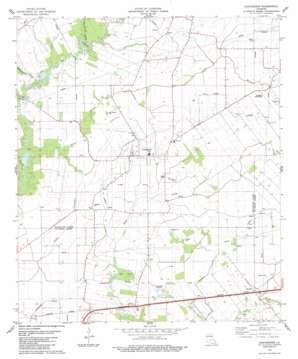 Chataignier topo map