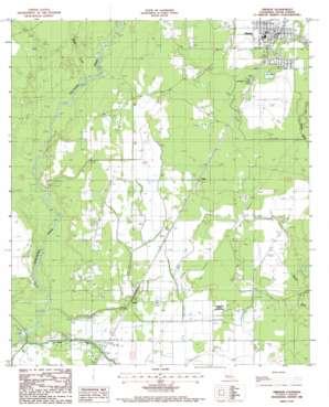 Oberlin topo map
