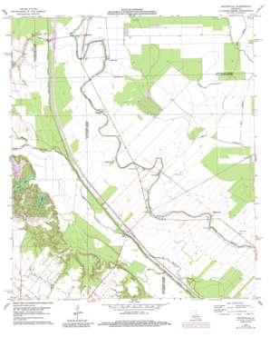 Whiteville topo map