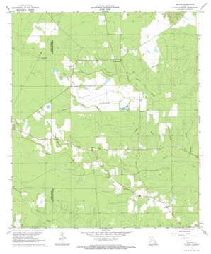 Beaver topo map