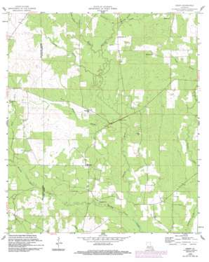 Grant topo map