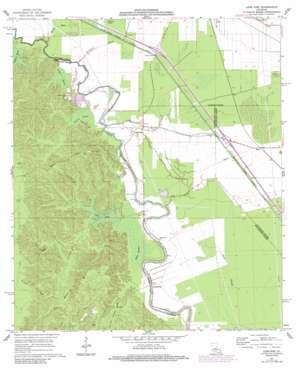 Lone Pine topo map