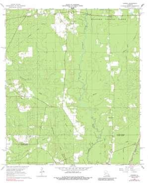 Pawnee topo map