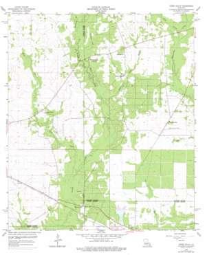 Steep Gully topo map