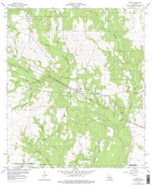 Pitkin topo map