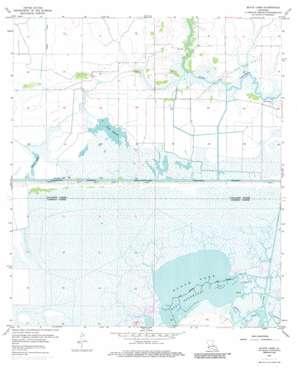 Black Lake topo map