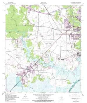 Orangefield topo map