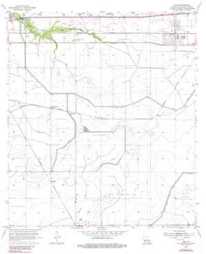 Iowa topo map