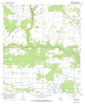 Brimstone topo map
