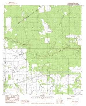 Lunita topo map