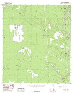 Hartburg topo map