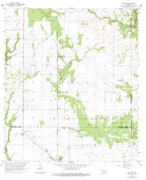 Gaytine topo map