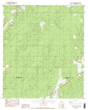 Clark Hollow topo map