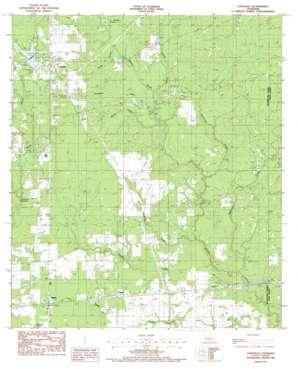 Longville topo map