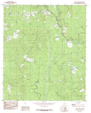 Trout Creek topo map