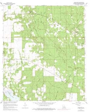 Sugartown topo map