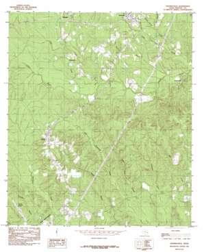 Shankleville topo map