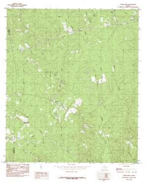 Jamestown topo map
