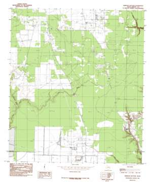 Simmons Bottom topo map