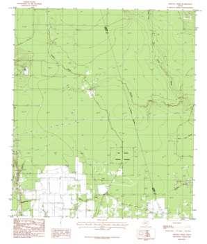 Arizona Creek topo map