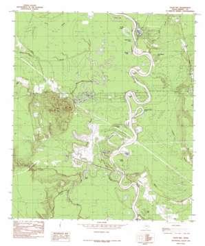 Davis Hill topo map