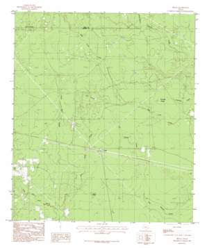 Bragg topo map