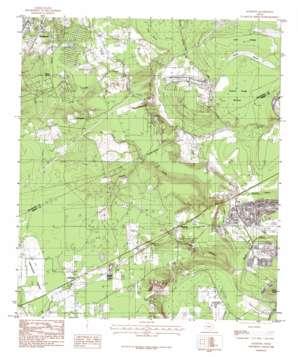 Rayburn topo map