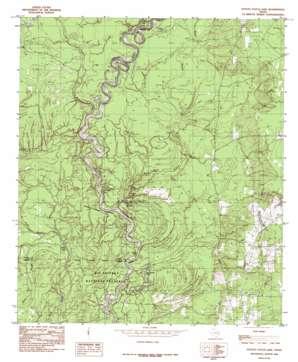 Potato Patch Lake topo map