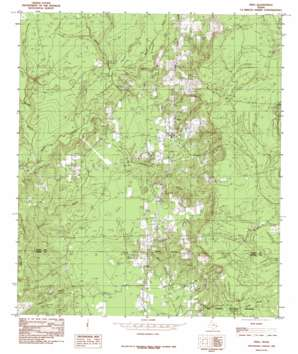 Fred topo map