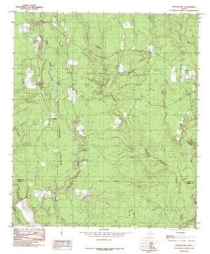 Hicksbaugh topo map