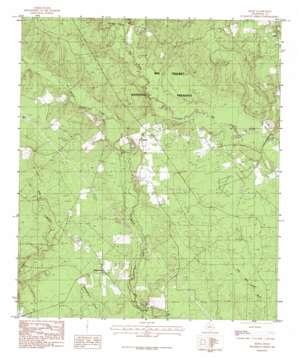 Segno topo map
