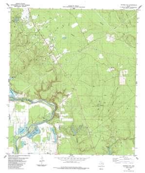 Schwab City topo map