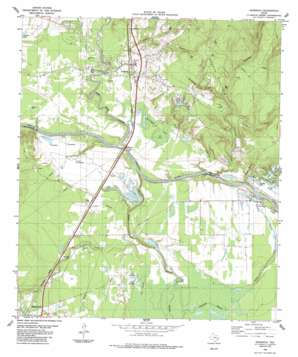 Goodrich topo map