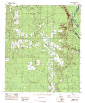 Spurger topo map