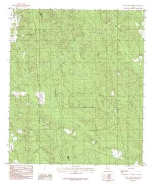 Jacks Creek North topo map