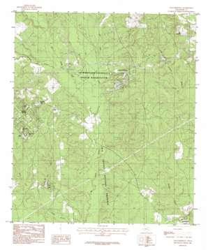 Dallardsville topo map