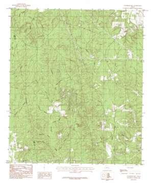 Chambliss Hill topo map