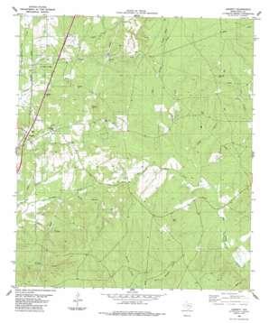 Leggett topo map
