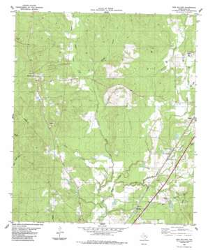 New Willard topo map