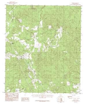 Chester topo map