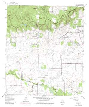 Rose Hill topo map
