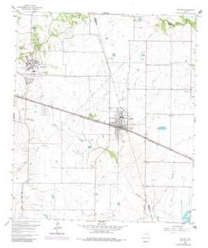 Waller topo map